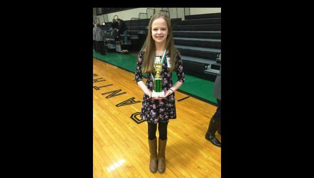 Brooke Boydston won 1st Place