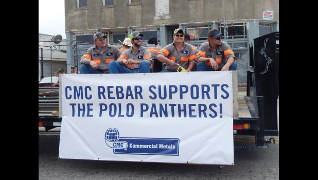CMC Commercial Metals shows their support of the Panthers