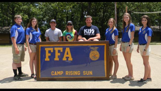Hamilton FFA attendeds State FFA Leadership Camp