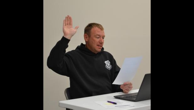 Newly elected board member John Ohlberg