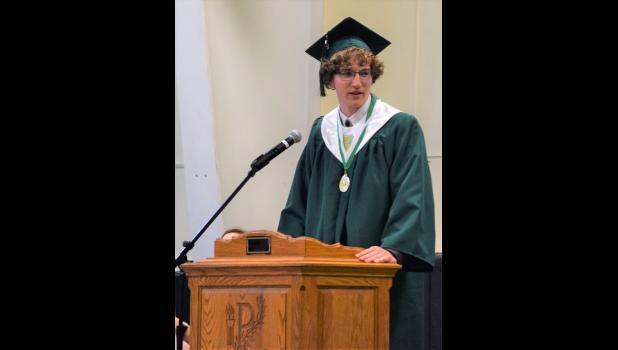 Polo High Valedictorian Matt Vaughan