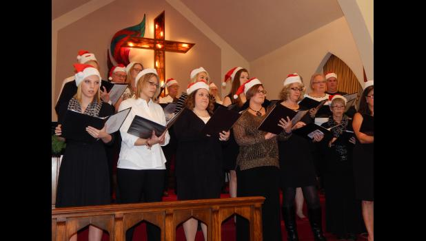 """A """"Family Christmas Spectacular"""" was a compilation of many Christmas favorites sang by the chorus."""