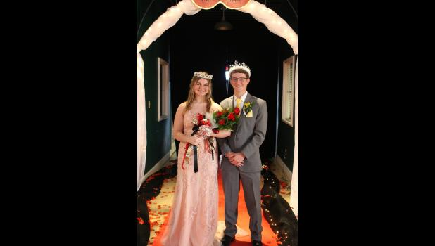Polo's Prom King and Queen are Jacob Sales and Kara Claypole.