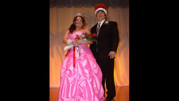 Braymer Prom King and Queen