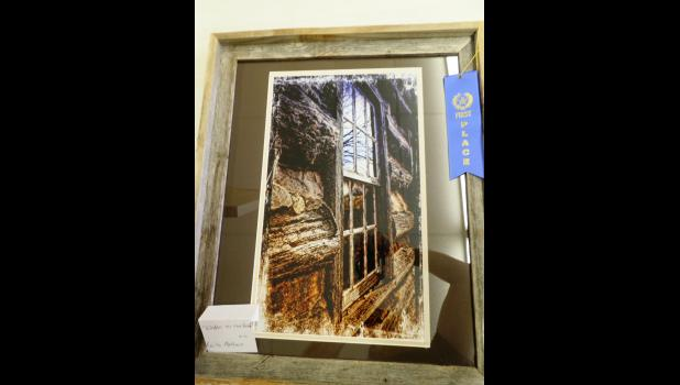 """Best of Show  """"Windows to the Past"""" photograph by Keith Matthews"""