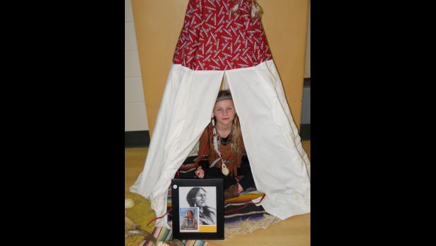 Sacagawea by Chloe McGraw