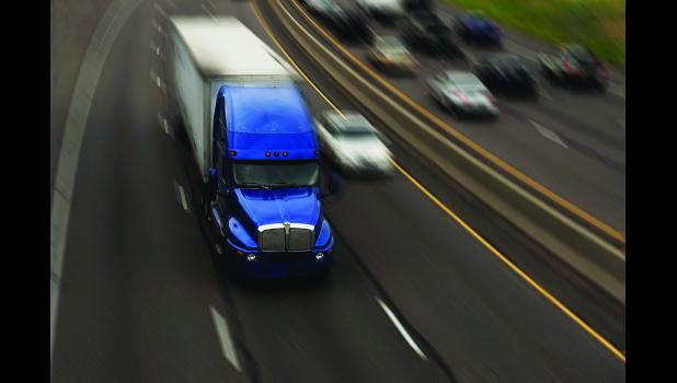 Commercial motor vehicles make up 20 percent of all traffic on Missouri's interstates.