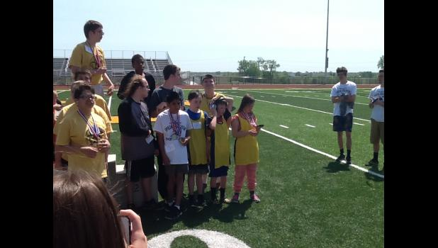 Special Olympics held at Lathrop on May 6