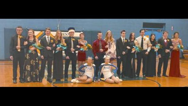Penney Highs 2017 Winter Homecoming Court