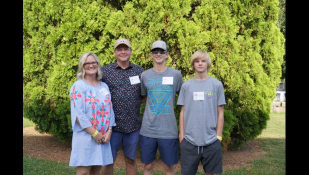 Nesha, David, Losson, and Grason Park