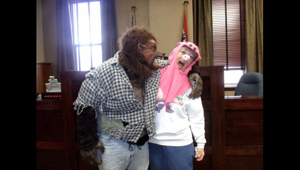 Big Bad Wolf and Miss Pig