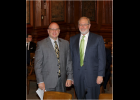 Senator Denny Hoskins presented Robert Wiegers to the Senate Committee on Gubernatorial Appointments.