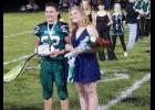 Homecoming King Joseph Hilburn and Queen Shelby Copeland